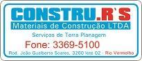 CONSTRU.R'S MATERIAIS DE CONSTRUÇÃO