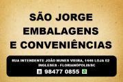 EMBALAGENS E CONVENIÊNCIAS EM INGLESES - SÃO JORGE EMBALAGENS E CONVENIÊNCIAS