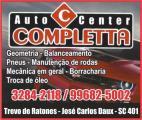 AUTO CENTER EM FLORIANÓPOLIS COMPLETTA