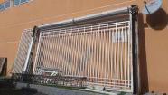 Portão eletrônico grande de metalon para empresa condomínios ou chácaras