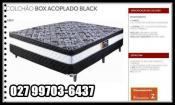 Colchobox casal black 138x188