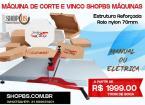 Maquina De Corte E Vinco Manual 70cm - SHOPBS MÁQUINA